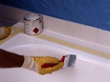Как покрасить ванну самостоятельно?