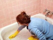 Как избавиться от ржавчины в ванной комнате?
