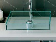 Особенности и преимущества стеклянной раковины